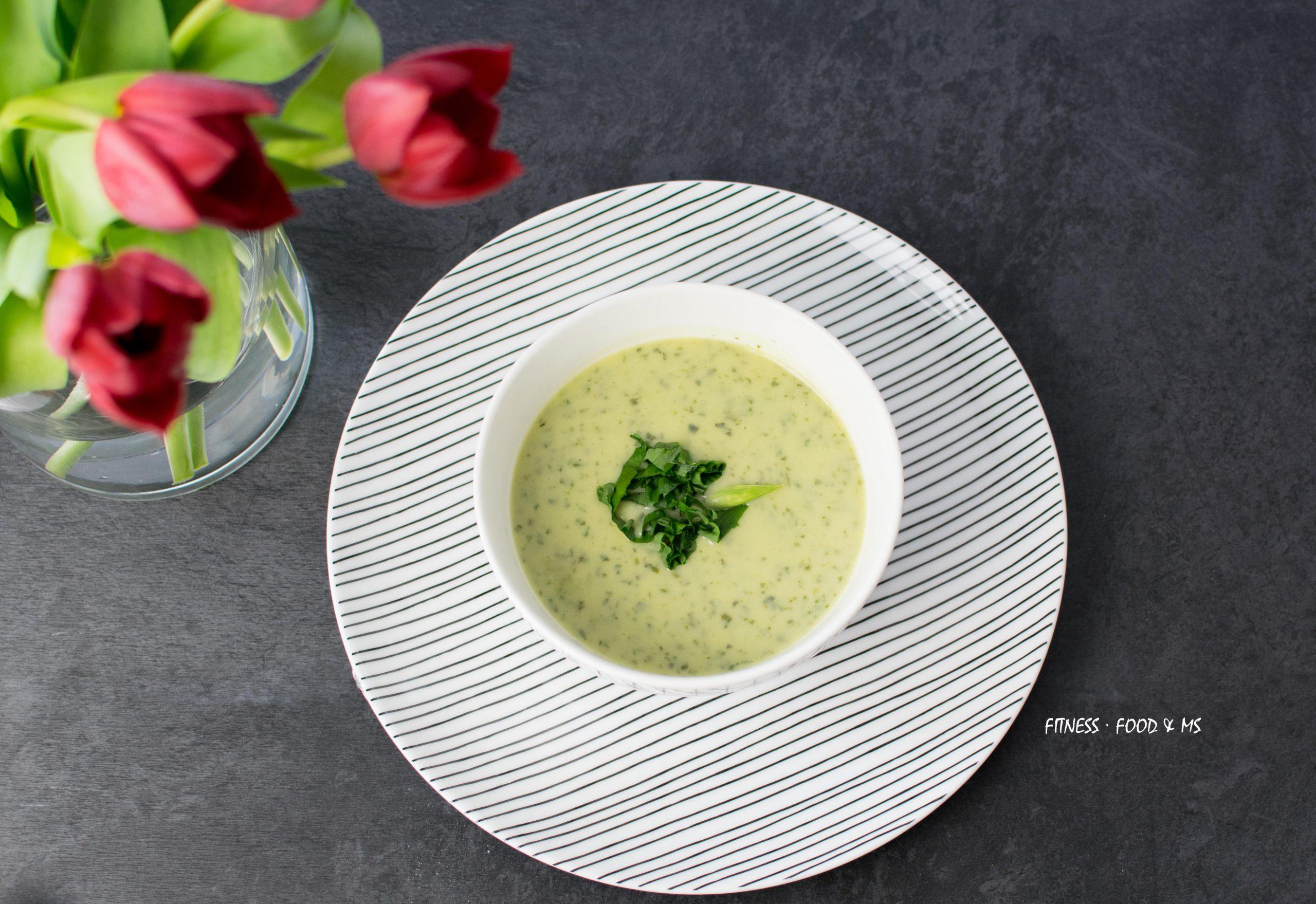 Suppe mit Bärlauch