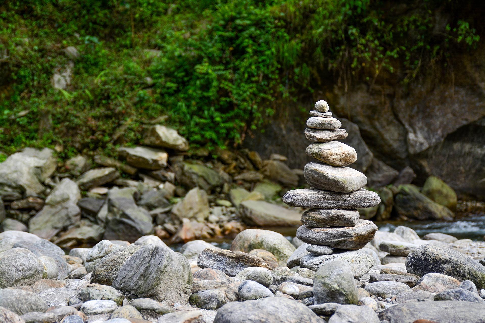 Der Körper in Balance