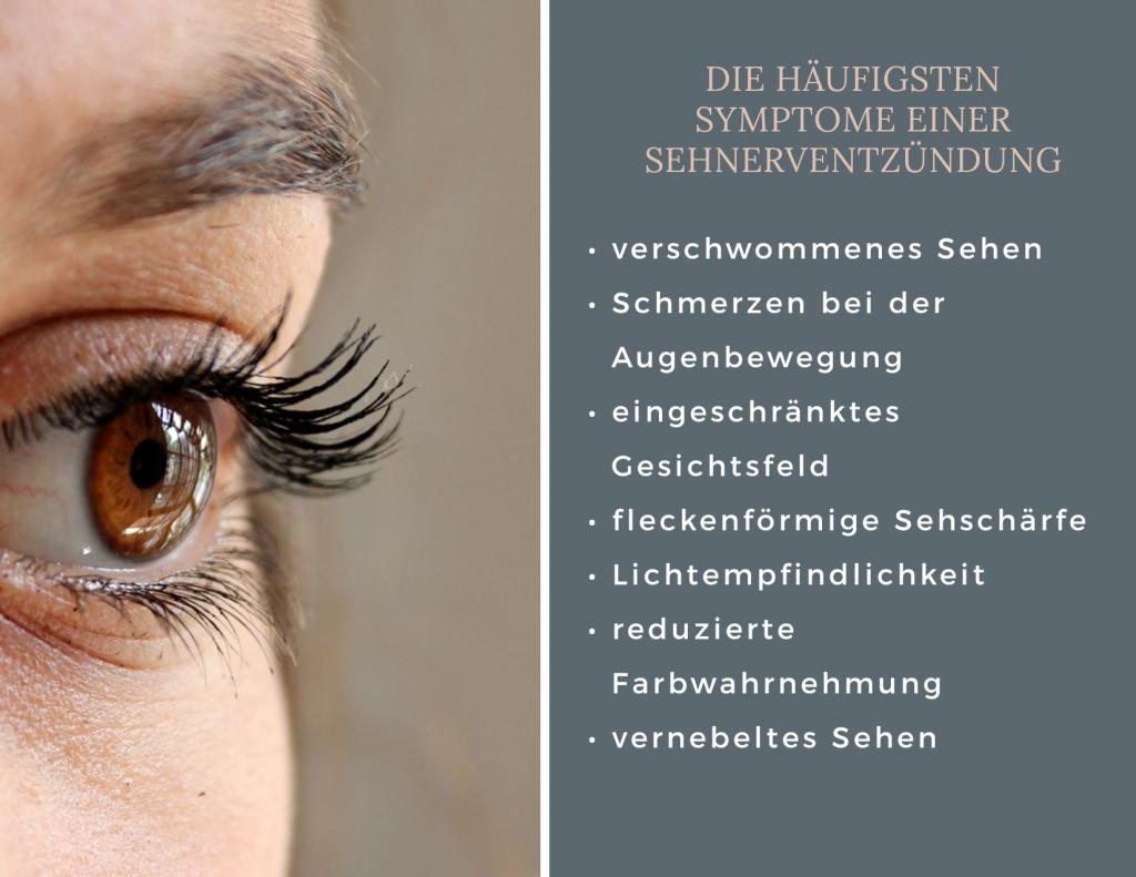 Sehstörung, MS, Multiple Sklerose, Symptome, Sehen