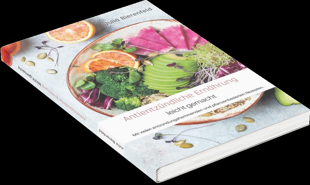 Antientzündliche Ernährung leicht gemacht, Multiple Sklerose, Autouimmunerkrankung, Julia Bierenfeld,978-3-00-068038-0, 978-3000680380, Ernährungsratgeber, Entzündungshemmende Ernährung